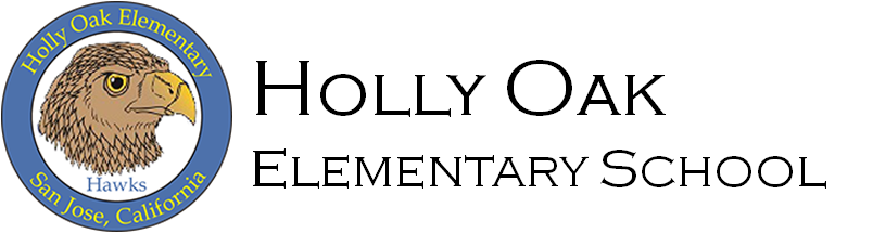 Holly Oak Elementary School Logo - go home page