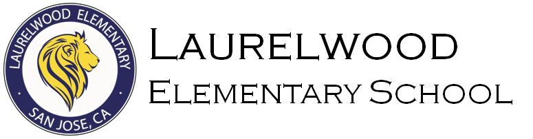 Laurelwood Elementary School Logo - go home page