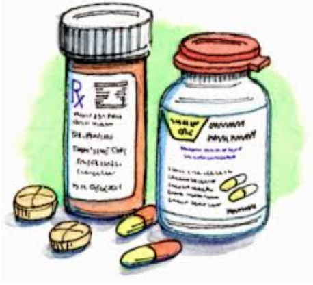 Clipart of Medicine