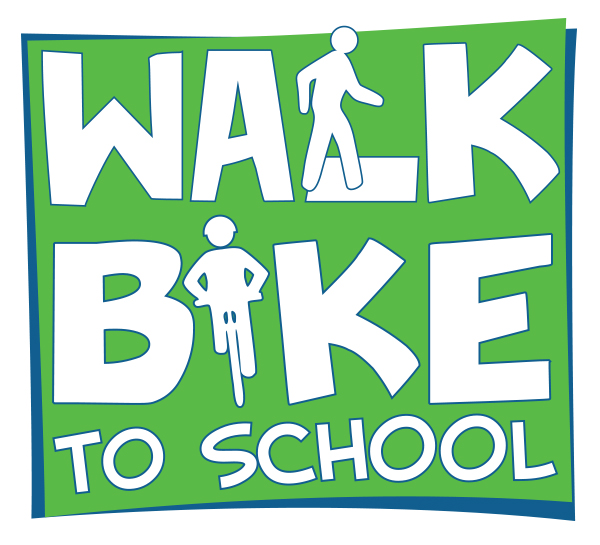 Walk and Bike to School Graphic